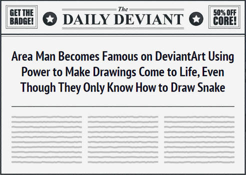 The Daily Deviant (Stupid Powers)