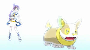 Chloe and Yamper battling together