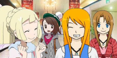 Pokemon Quest: Shopping at Hammerlocke Mall