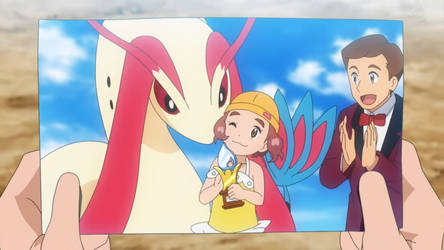 Nami and Milotic wins the Contest
