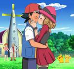 Pokemon Quest: Ash and Serena's Pallet Kiss