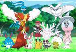 Pokemon Quest: Serena's Galar Team