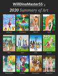 My 2020 Summary of Art