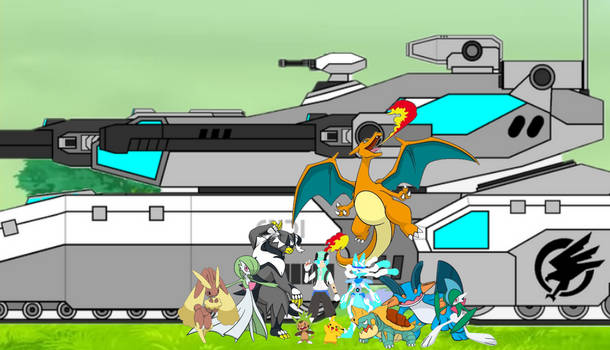 Jim Porter and his Pokemon Team (GaryBones)