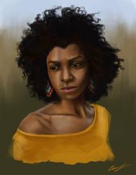Portrait study by Hayzel666