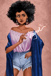 Afro by Hayzel666