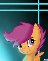 New Scootaloo Icon by 8-Blit-Poni