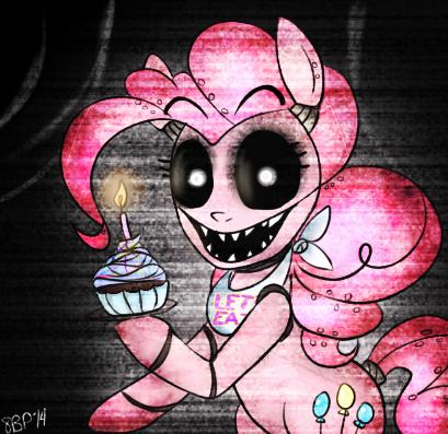 FNAF Pinkie Pie by 8-Blit-Poni