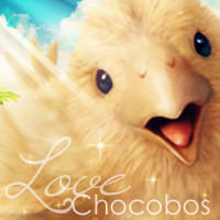 Chocobo Love - Icon by MissAlyvia
