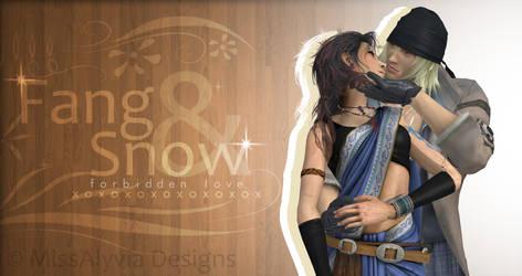 Fang x Snow - XNALara Art 3 by MissAlyvia