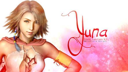 Yuna - Final Fantasy Wallpaper by MissAlyvia