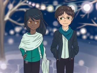 Winter wonderland (Rosawatts lol) by HitTheReplayButton