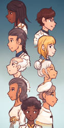 Agents of Sigmund (headshots only) by HitTheReplayButton