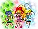 Powerpuff Girls Z Sprites by Karlibell22