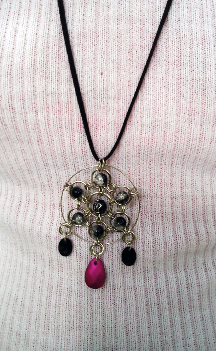 Mandala chainmaille by Julia-EVS
