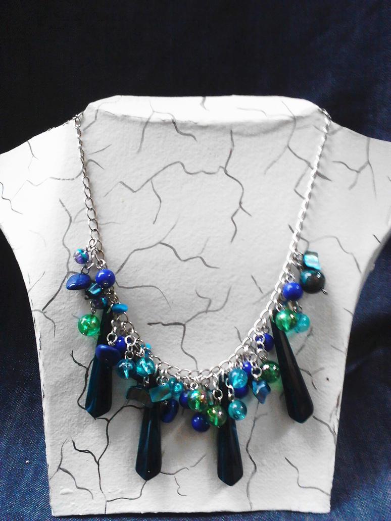Collar azul by Julia-EVS