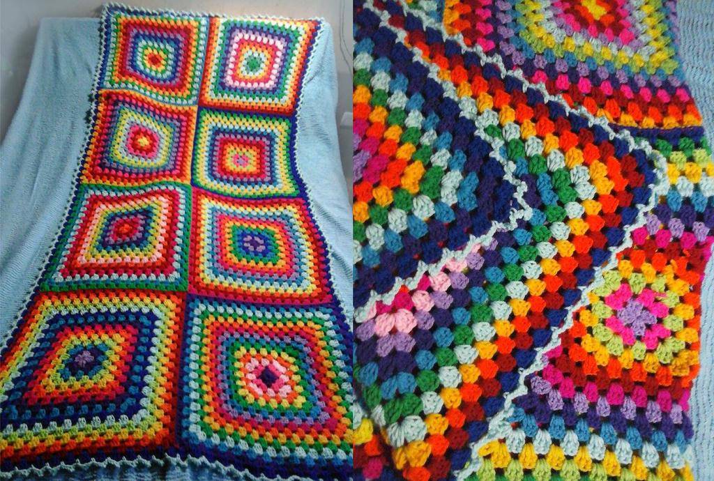 Manta colorida by Julia-EVS