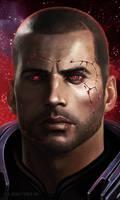 Shepard Commander Renegade