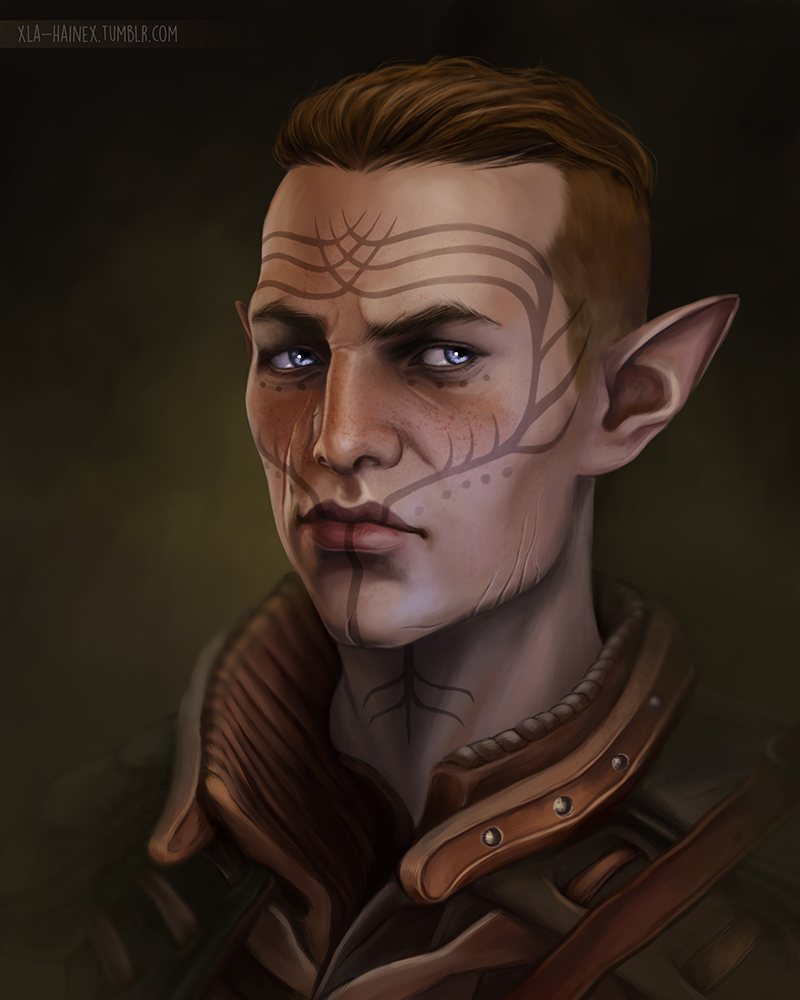 Inquisitor Lavellan by xla-hainex