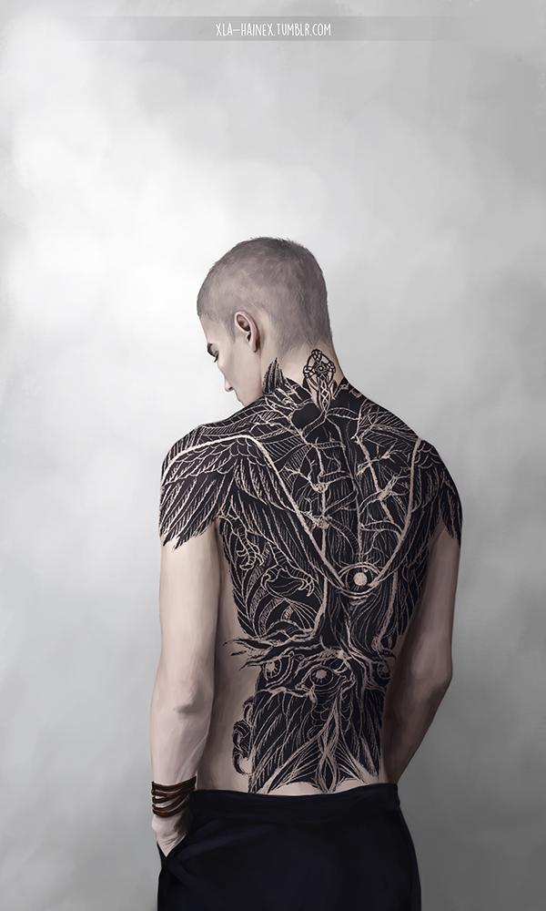 Ronan's tattoo