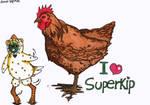 Voor Superkip by dauwdrupje