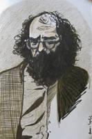 Allen Ginsberg by dauwdrupje