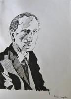 Marcel Duchamp by dauwdrupje