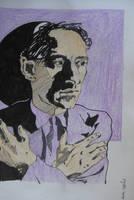 Jean Cocteau by dauwdrupje