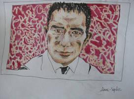 Yukio Mishima by dauwdrupje