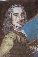 Voltaire by dauwdrupje