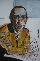 Igor Stravinsky by dauwdrupje