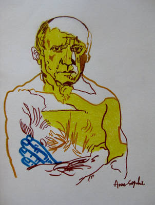Pablo Picasso by dauwdrupje