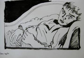 Truman Capote by dauwdrupje