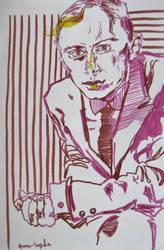Sergei Prokofiev by dauwdrupje