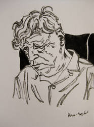 W. H. Auden by dauwdrupje
