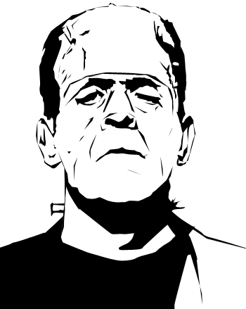 frankensteins monster vector by nonhovoglia on deviantart