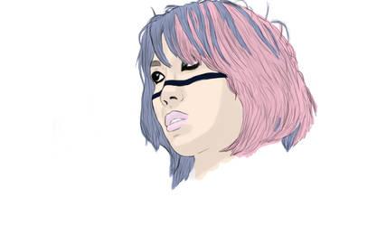 Asuka Colored by NonHoVoglia