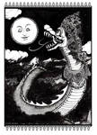How the new moon arises by FairytalesArtist