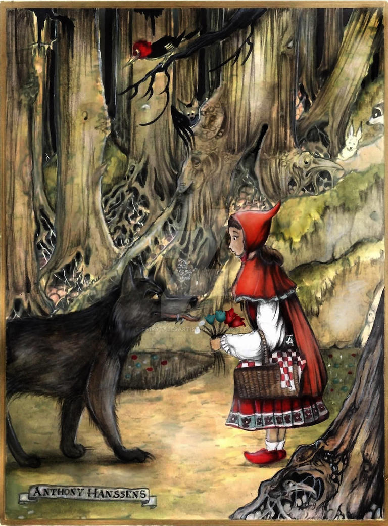 """company of wolves little red riding hood The erotic transformation of little red riding hood from an object to a subject: metatextuality within """"the company of wolves"""" and """"little red riding hood""""."""
