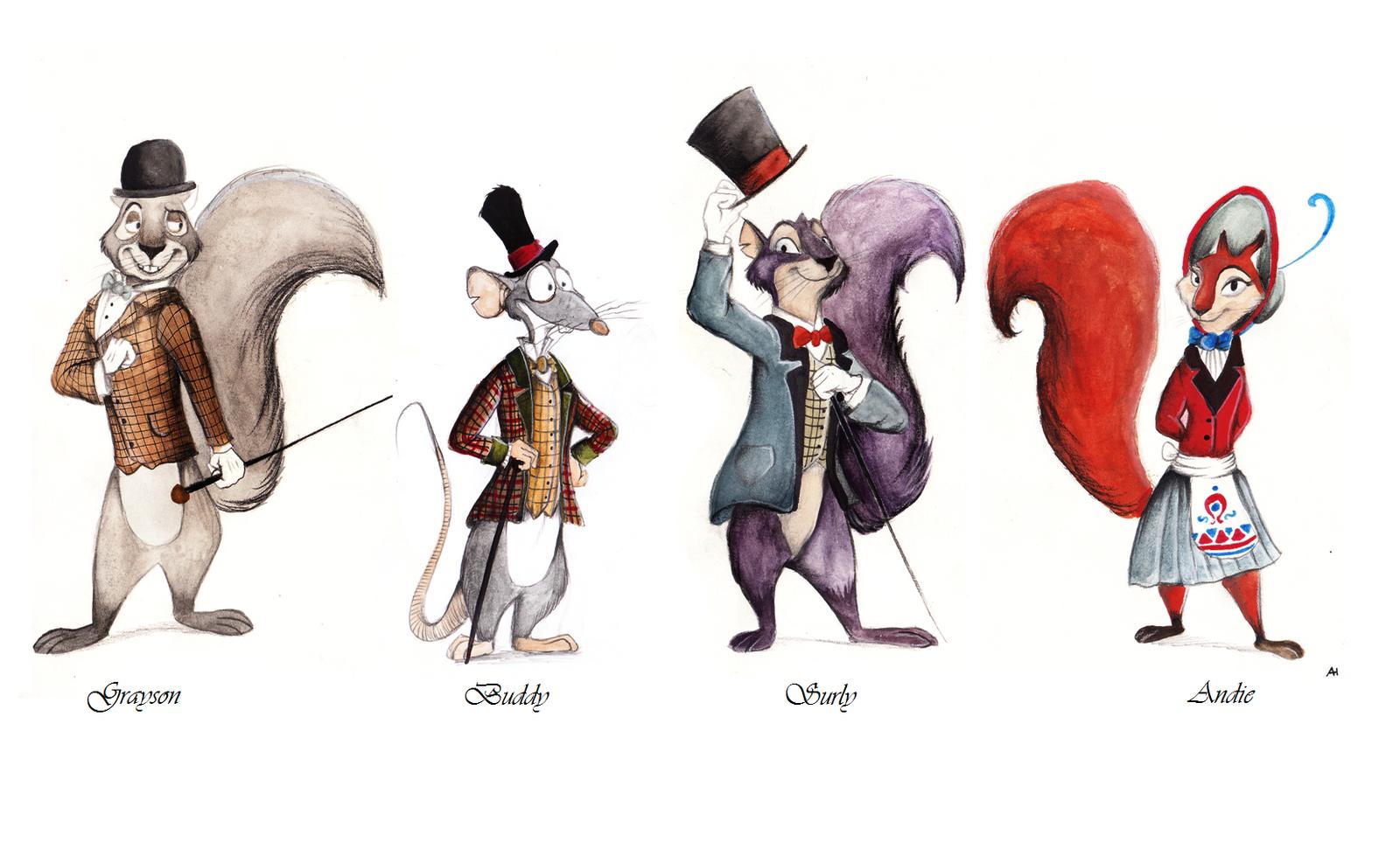 Bobby Moynihan (@bibbymoynihan) | Twitter |The Nut Job People Characters