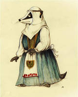 Redwall: Constance the Badger