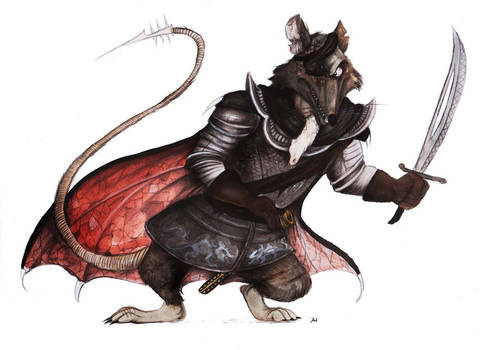Redwall: Cluny the Scourge