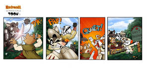 Redwall Warrior Toons Show comic 1.