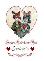 A Victorians Zootopia Valentine's Day by FairytalesArtist