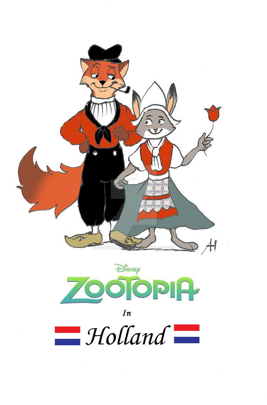 Zootopia in Holland by FairytalesArtist