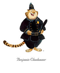 Zootopia Benjamin Clawhauser