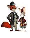 Sherlock Hopps and Nick Watson