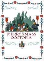 Merry Christmas Zootopia by FairytalesArtist