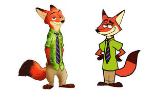 Fairly odd Zootopia character Nick Wilde