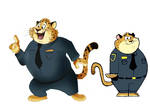 Fairly Odd Zootopia Character Benjamin Clawhauser